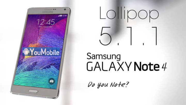 Root Galaxy Note 4 N910C on Android 5.1.1 Lollipop