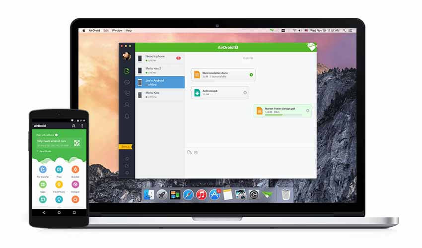 Top 5 Free Android File Sharing Apps -Airdroid