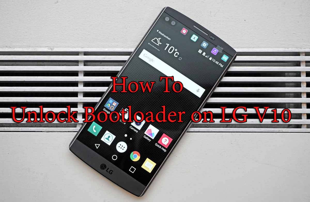 Unlock Bootloader on LG V10