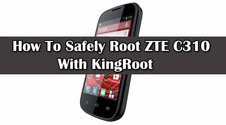 Root ZTE C310