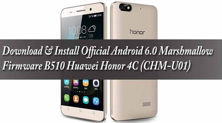 Прошивки для Huawei Honor 4c