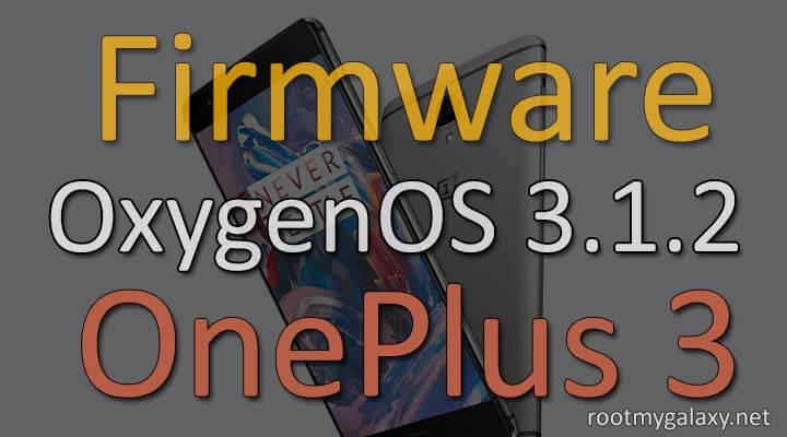 OnePlus 3 Stock Firmware