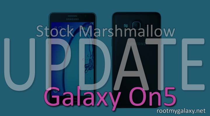 Official Marshmallow 6.0.1 On Samsung Galaxy On5
