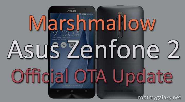 How to] Manually Update ASUS ZenFone 2 to Marshmallow