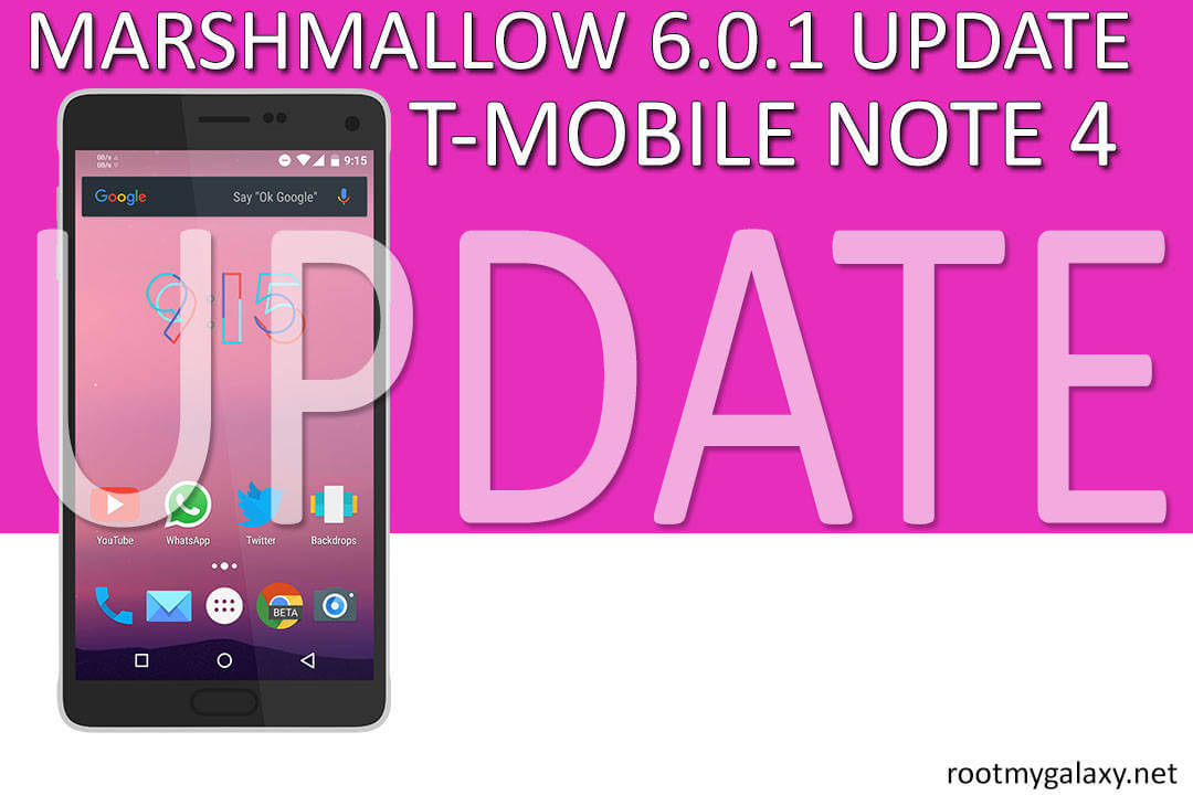 Samsung Galaxy Note 4 N910C gets Marshmallow Comments