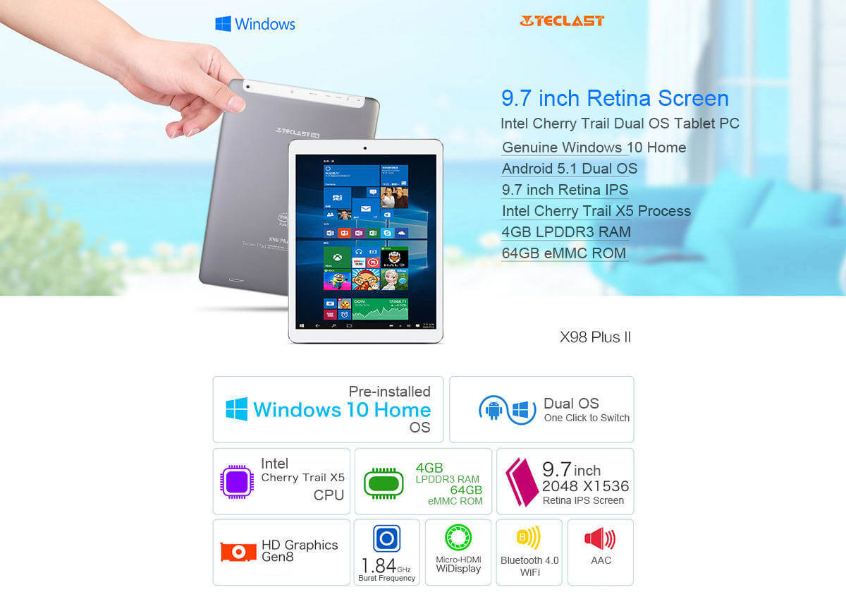 TECLAST X98 PLUS 2 in 1