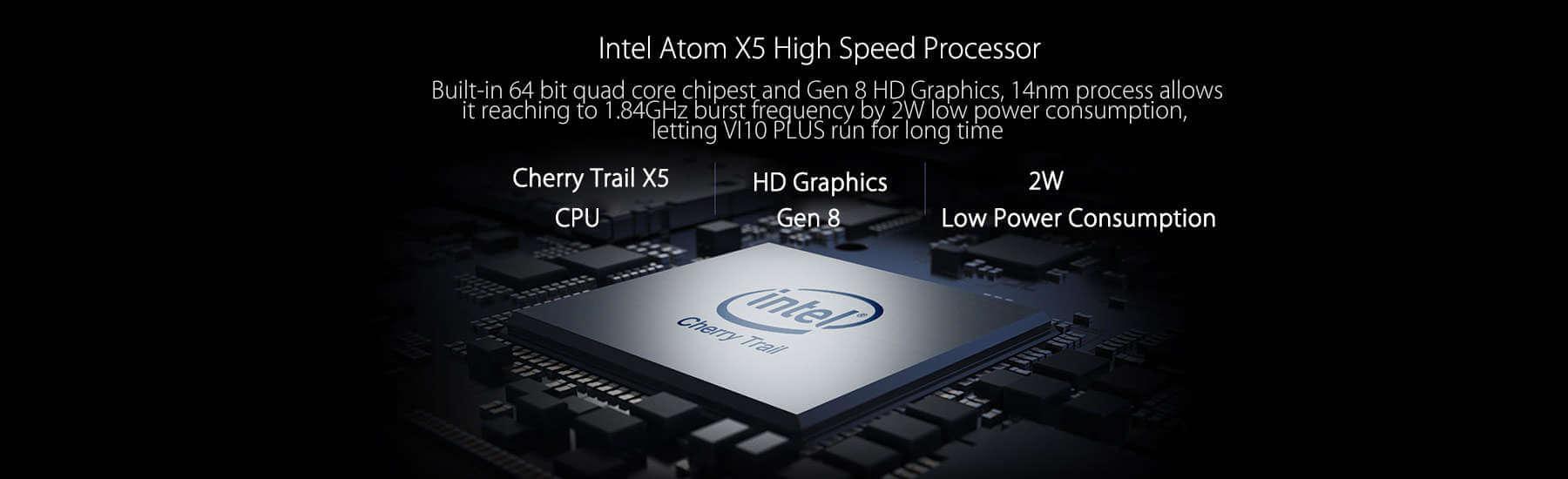 CHUWI VI10 PLUS CPU