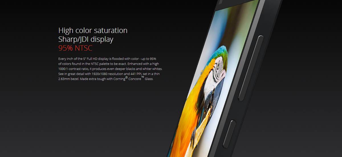 Xiaomi Mi4 Display