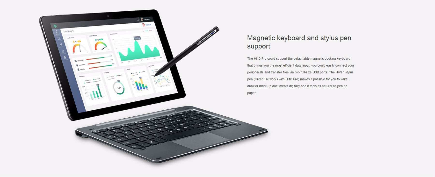CHUWI Hi10 Pro Megic Keyboard