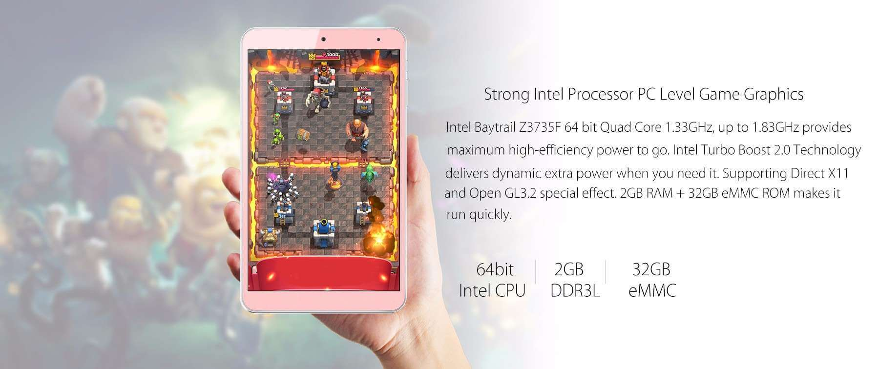 Onda V80 SE Tablet PC CPU