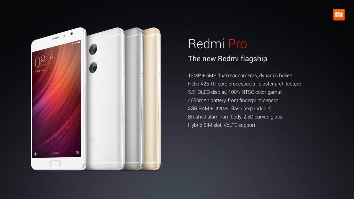 Redmi Pro Processors