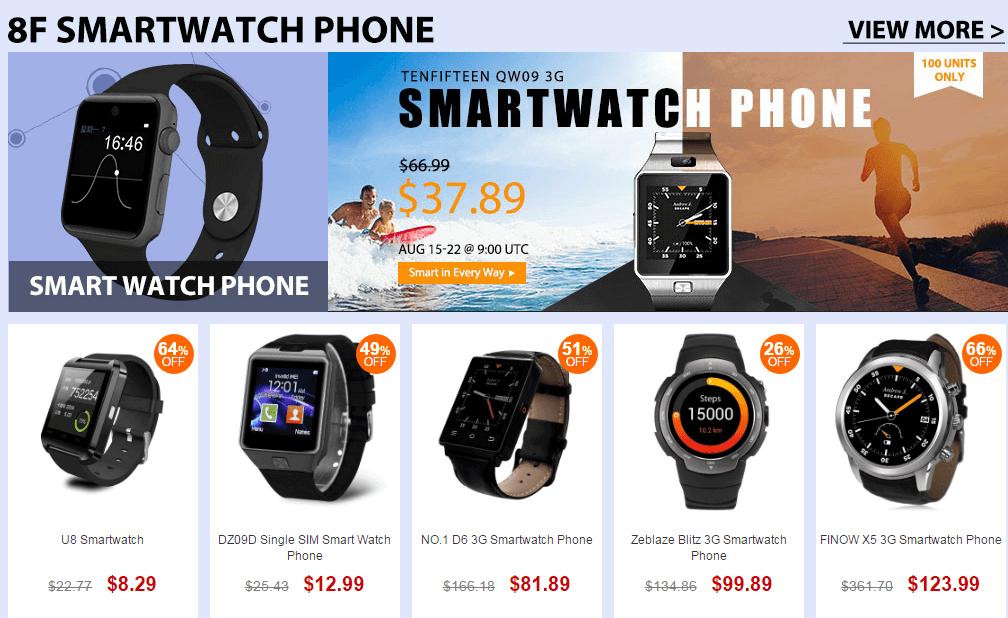 Top Brand Smartwatch Sale
