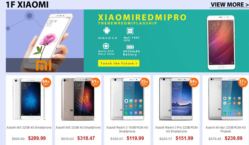Top Brand Smart Phone Sale- Xiaomi