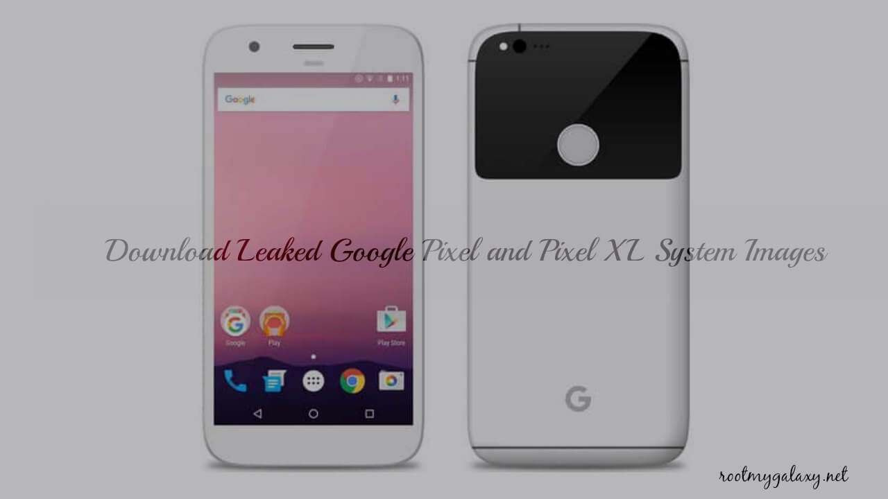 Download Leaked Google Pixel and Pixel XL System Images