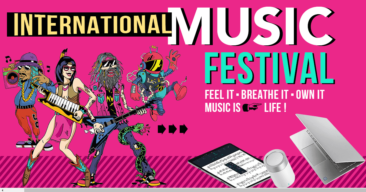 Gearbest's International Music Festival Tech Sale