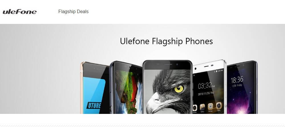 Ulefone Brand Store Promotional Sale