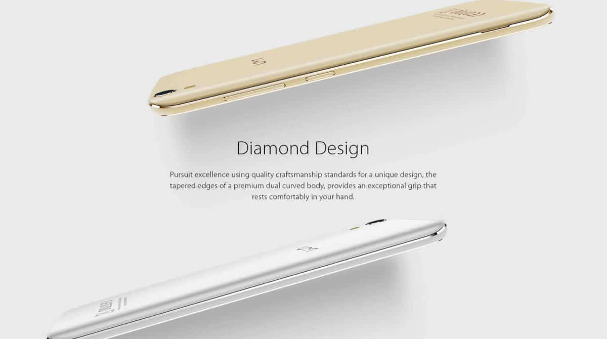 UMi Diamond 4G Smartphone Design