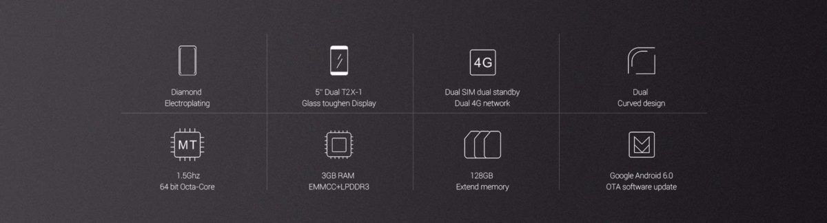 UMi Diamond 4G Smartphone Battery