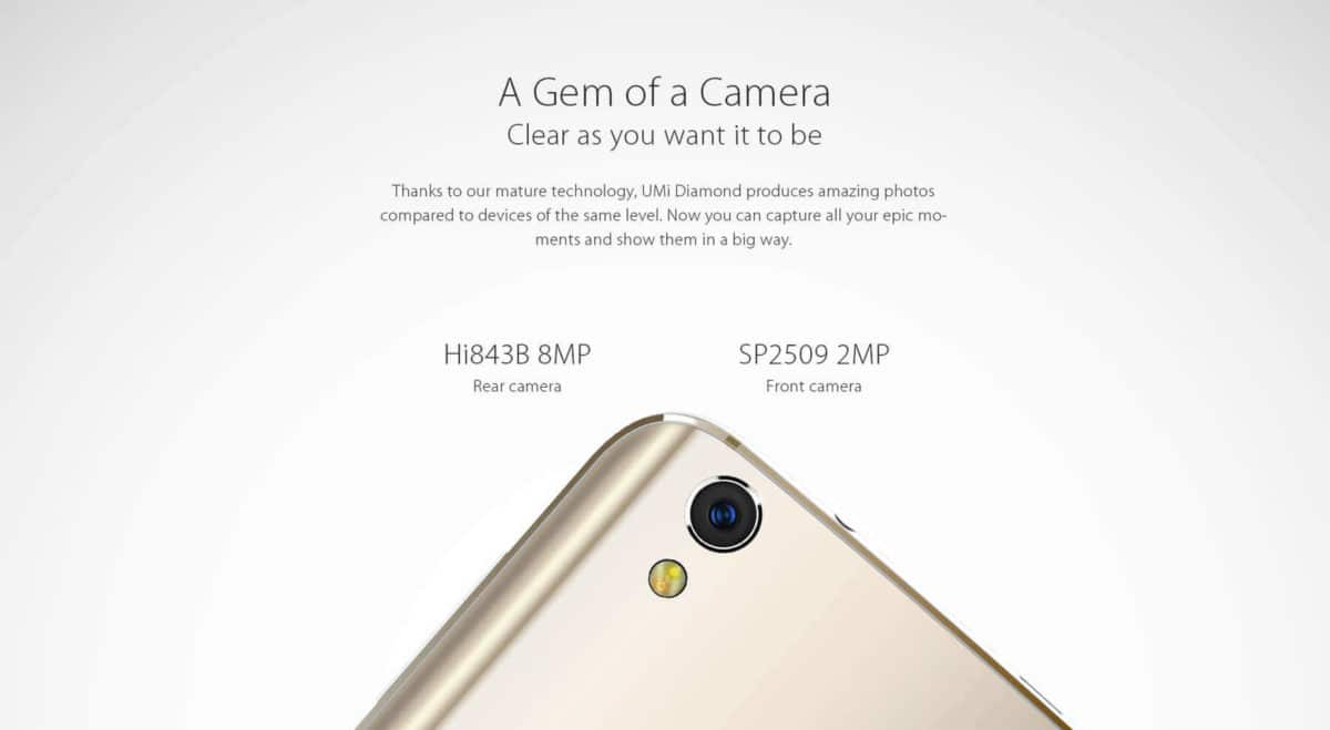 UMi Diamond 4G Camera