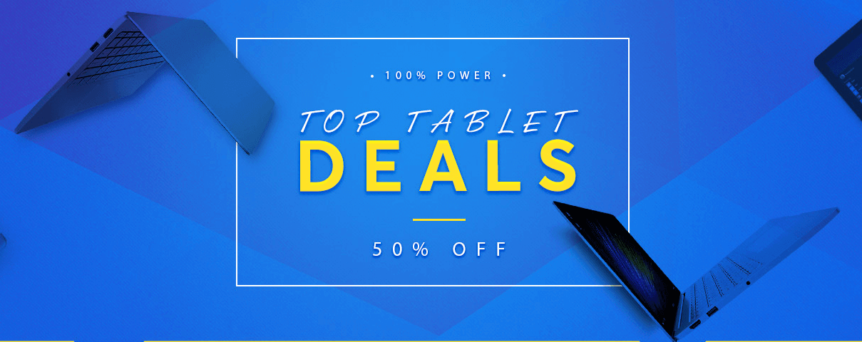 Gearbest's Top Tablet Deals