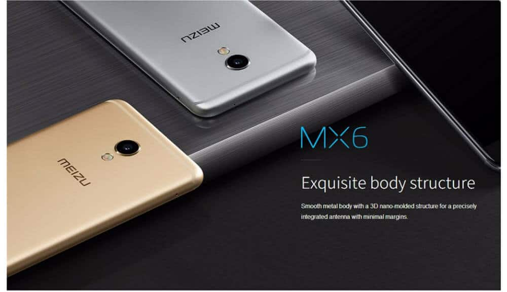 Meizu MX6 4G Build Quality