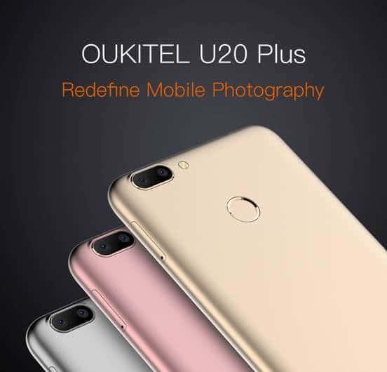 OUKITEL U20 Plus will getMT6737T 1.5GHz Quad-core processor