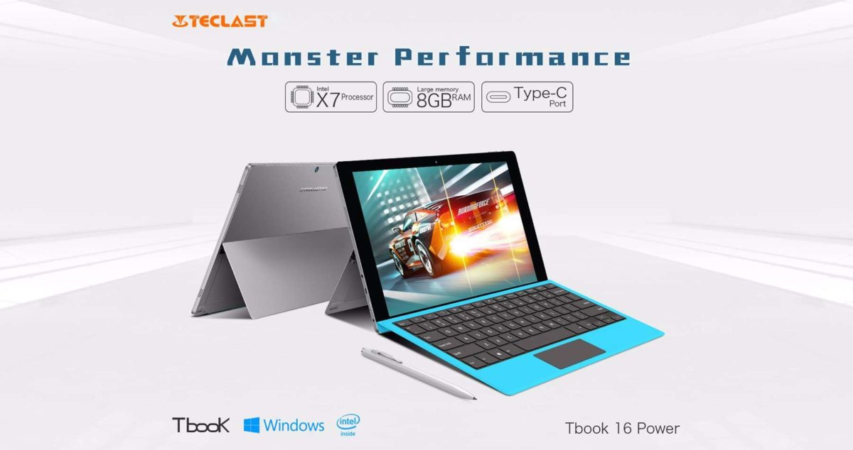 TeclastTBook 16 Power Short Review