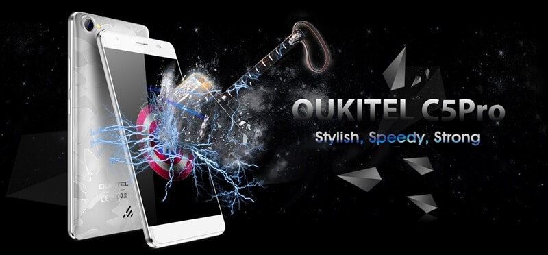 OUKITEL C5 Pro Screen Faces Hammer, Nails and Drops (Challenge)