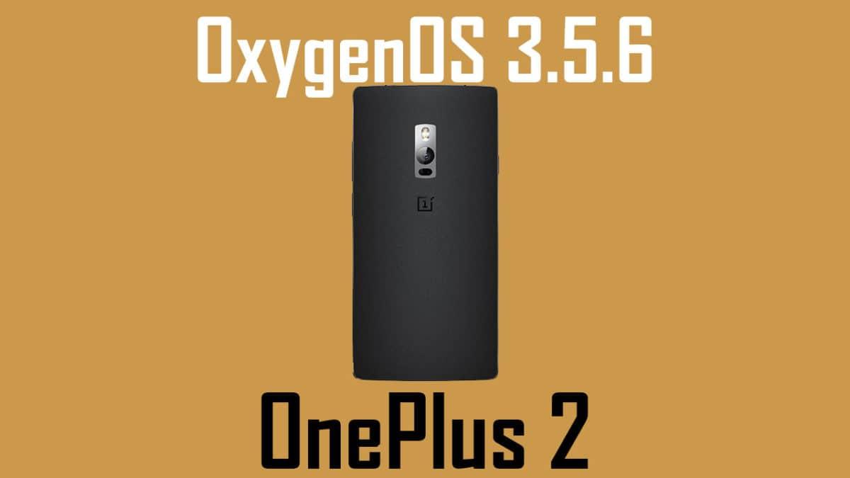 Install OxygenOS 3.5.6 on OnePlus 2