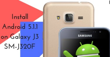 Android 5.1.1 on Galaxy J3 SM-J320F