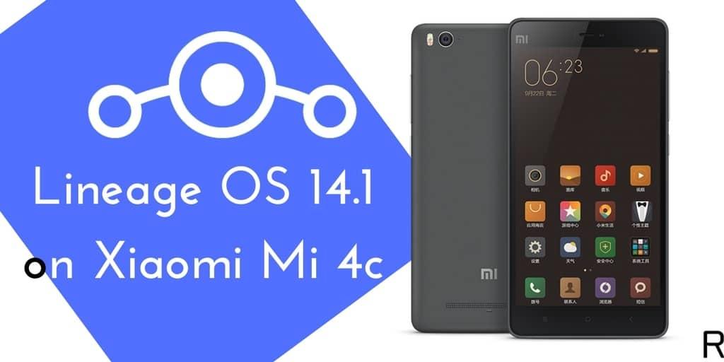Lineage OS 14.1 on Xiaomi Mi 4c