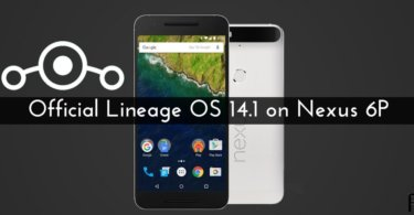 official Lineage OS 14.1 on Nexus 6P
