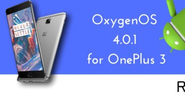 OxygenOS 4.0.1 for OnePlus 3