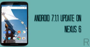 Official Android 7.1.1 Nougat Update For Nexus 6 Is Available