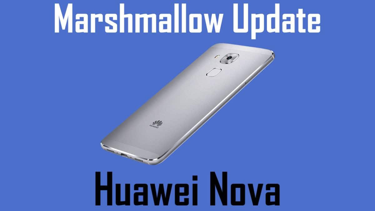 Update Huawei Nova to Android 7.0 Nougat [EMUI 5.0]