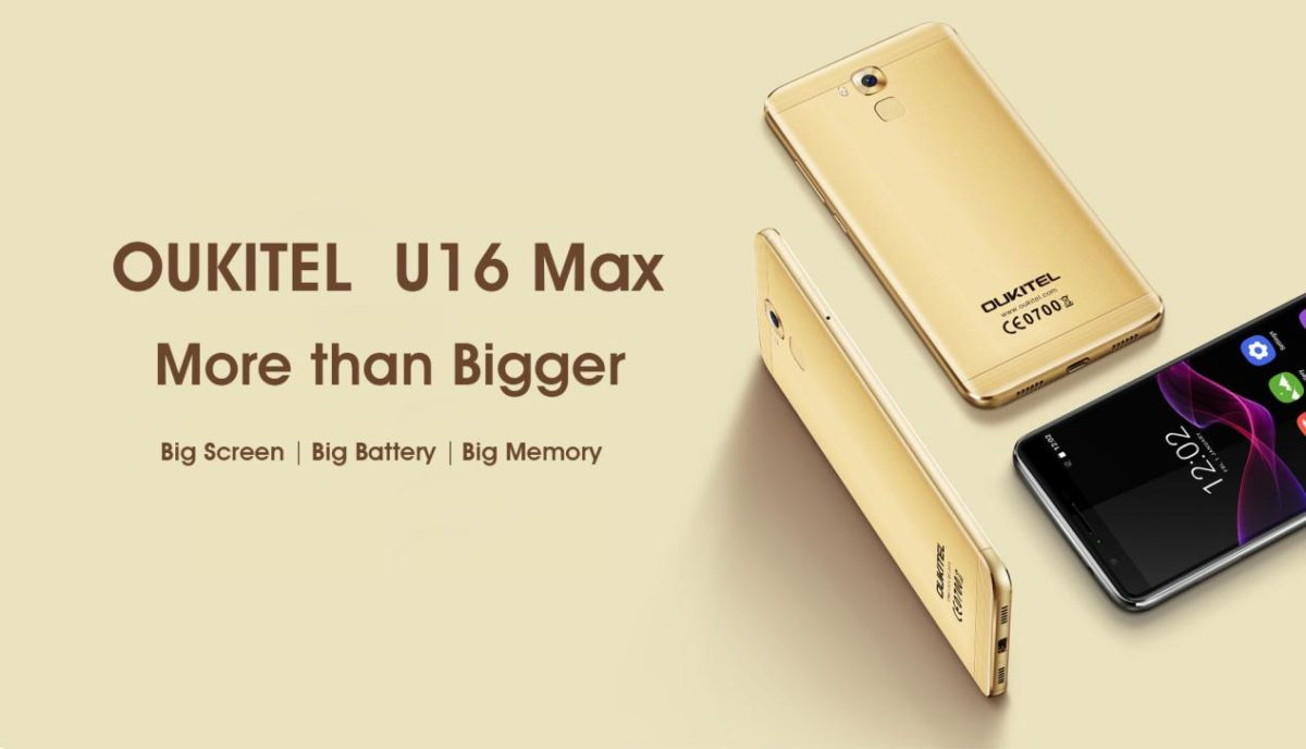 OUKITEL planning to release 6 inch big battery smartphone U16 Max