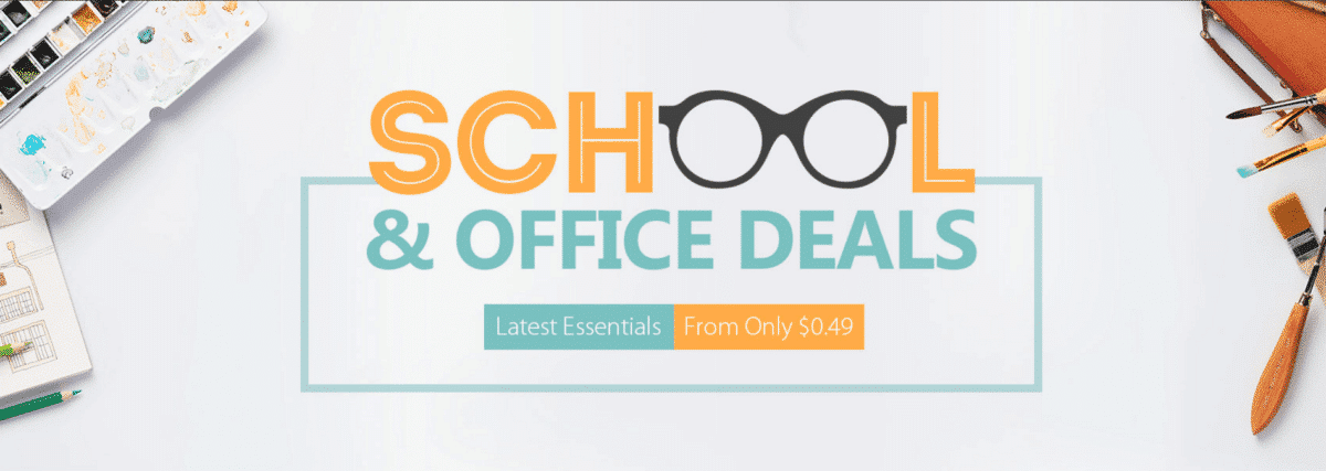Gearbest School and Office deals