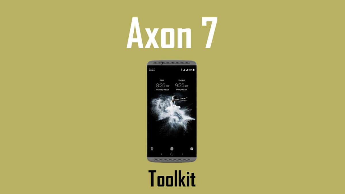 Download Axon 7 Toolkit to Make Flashing Simpler!