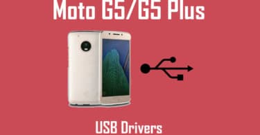 Download Moto G5 and G5 Plus USB Drivers