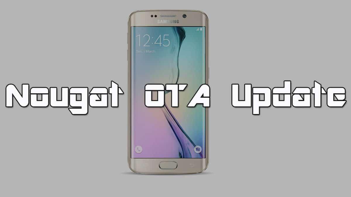 Install Galaxy S6 G920FXXU5EQAC Nougat Update