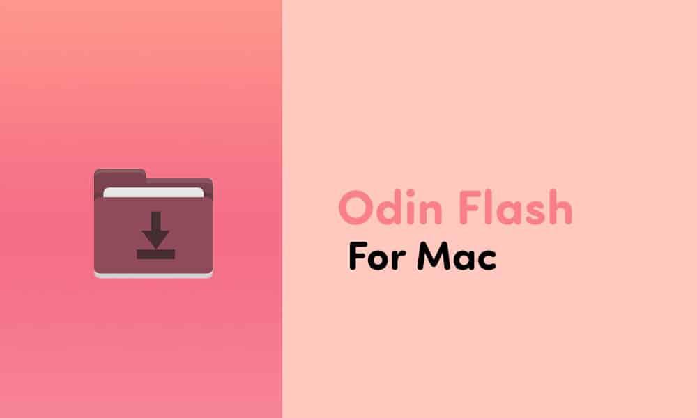 Download Odin Flash Tool For Mac (JOdin3 -2020)