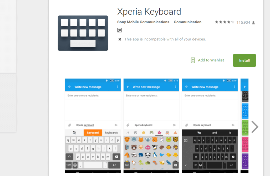 How to Install Xperia Keyboard On Any Android Smartphone