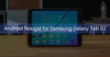 Android Nougat on Samsung Galaxy Tab S2