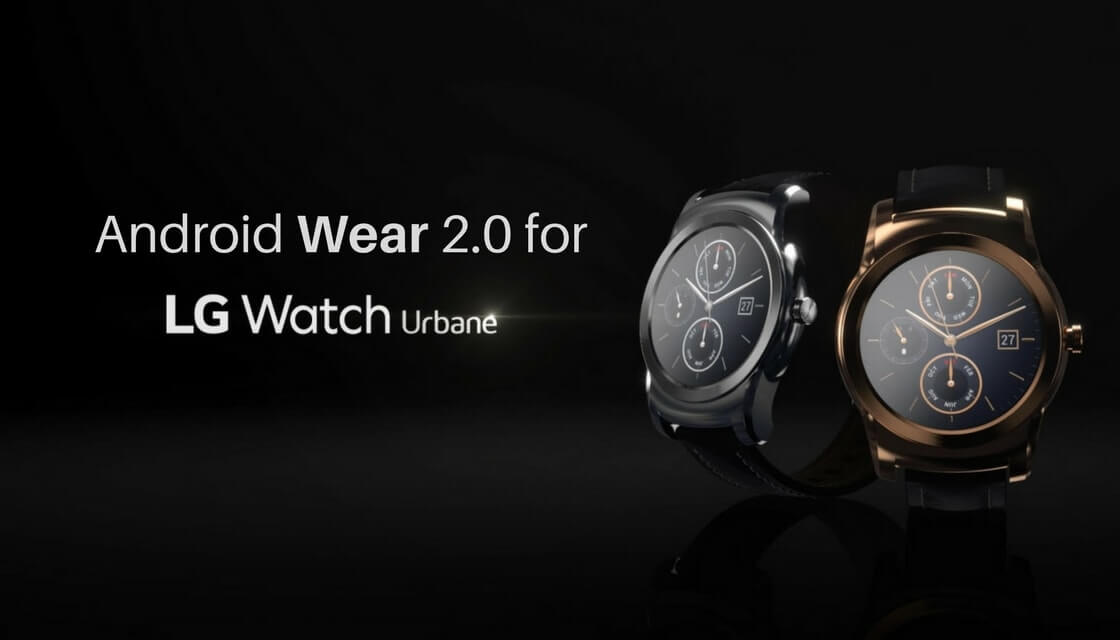 Android Wear 2.0 on LG Watch Urbane