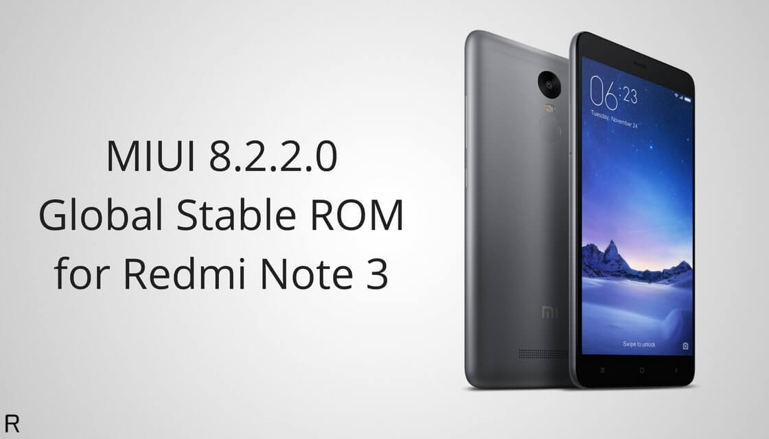 Download And Install MIUI 8.2.2.0 Global Stable ROM On