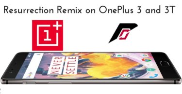 Resurrection Remix on OnePlus 3 and 3T