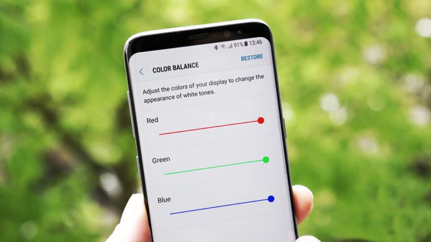 Samsung Galaxy S8 Red Tint Display Issue