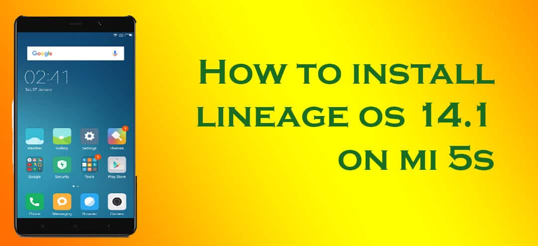 how to clean install lineage os