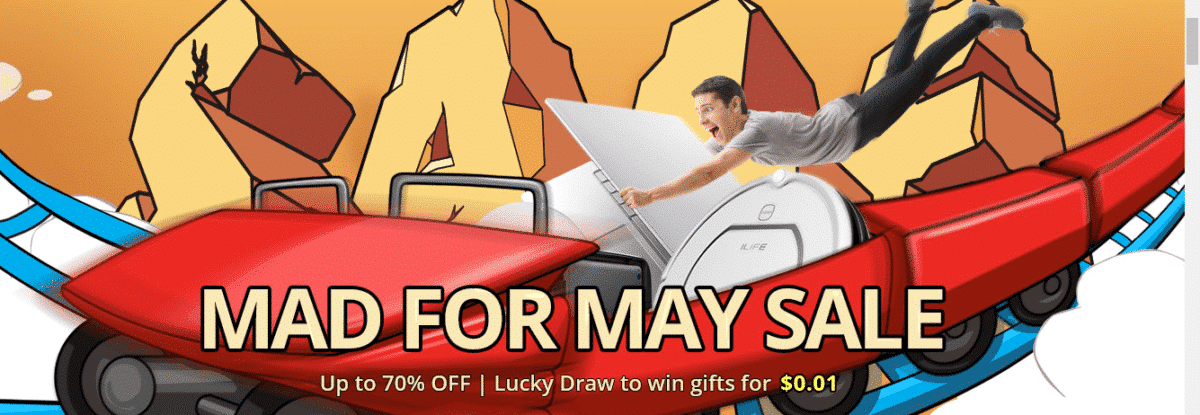 Mad for May Promotional Sale