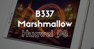B337 Marshmallow on Huawei P8